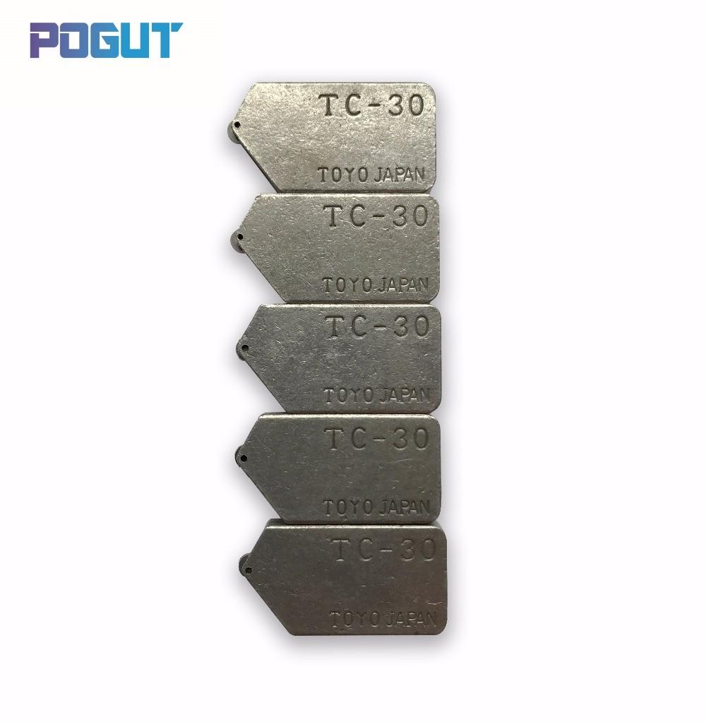 Free Shipping 5pcs/lot Replacement POGUT TOYO Type TC-30 Glass Tile Cutter Head