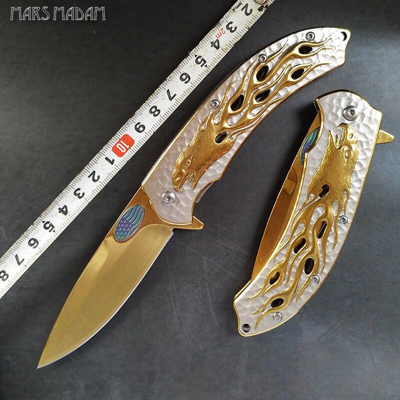 کنده کاری های نفیس عقاب طلایی توتم - ابزار دست