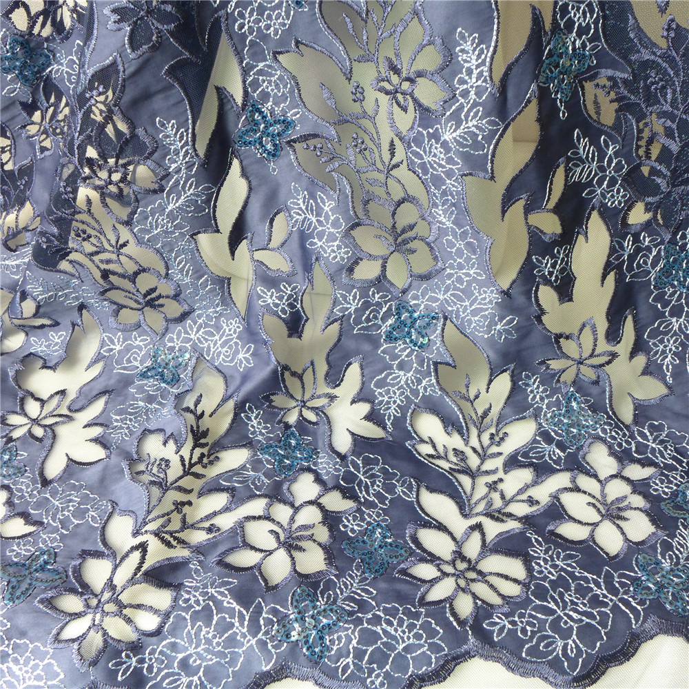 Buy embroidery satin lace fabric and get free shipping on AliExpress.com b8bf1e414e56