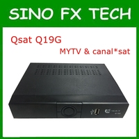 Africa Latest DVB Satellite Tv Box Q Sat Q26g With Two Accouts QSAT Q26G