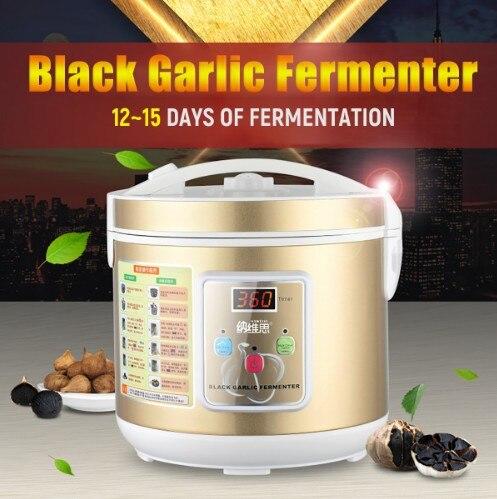 90W 5/6L Automatic Black Garlic Fermenter Household DIY Zymolysis Pot Maker 110V 220V Black Garlic Fermenting Machine