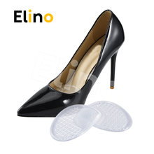 Elino Elastic Forefoot Half Code Pads Chinese Massage 3D Silica Gel Insoles Anti-slip for Women High Heel Sneaker Casual Shoes(China)