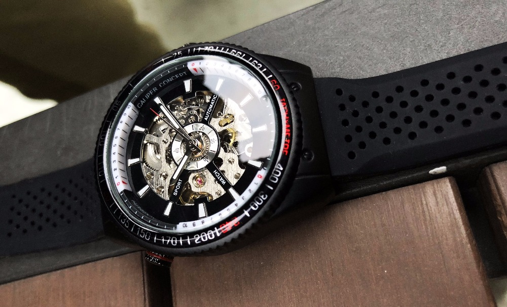 HTB1OMFbh8fH8KJjy1Xbq6zLdXXaA Forsining 2016 Rotating Bezel Sport Design Silicone Band Men Watches Top Brand Luxury Automatic Black Fashion Casual Watch Clock