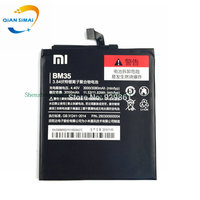 1PCS 3000mAh 100 New High Quality BM35 Battery For Xiaomi Mi4c Mi 4C Mobile Phone Track