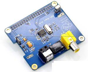 Image 4 - Цифровая звуковая карта HIFI DiGi + I2S SPDIF, оптический волоконный RCA Raspberry Pi 3/2 B +