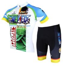 Anime One Piece Roronoa Zoro Cycling Jersey Men Cycling Equipment Cycling Sets X069