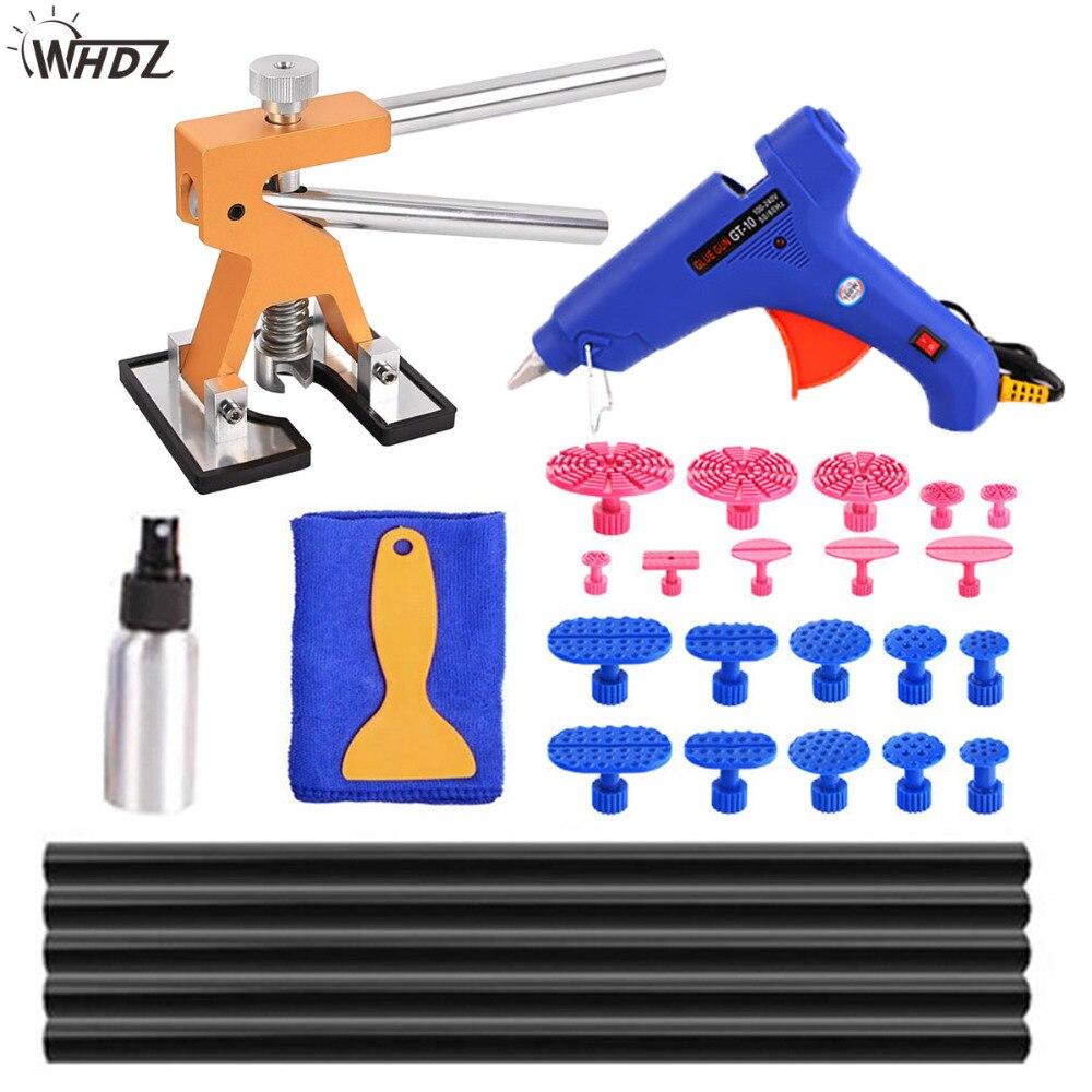 WHDZ Dent fora Ferramentas DIY ferramenta de reparo do carro Dent dent lifter ferramenta removel e cola cola Reparação de Granizo Remoção Do Dente ferramentas kits