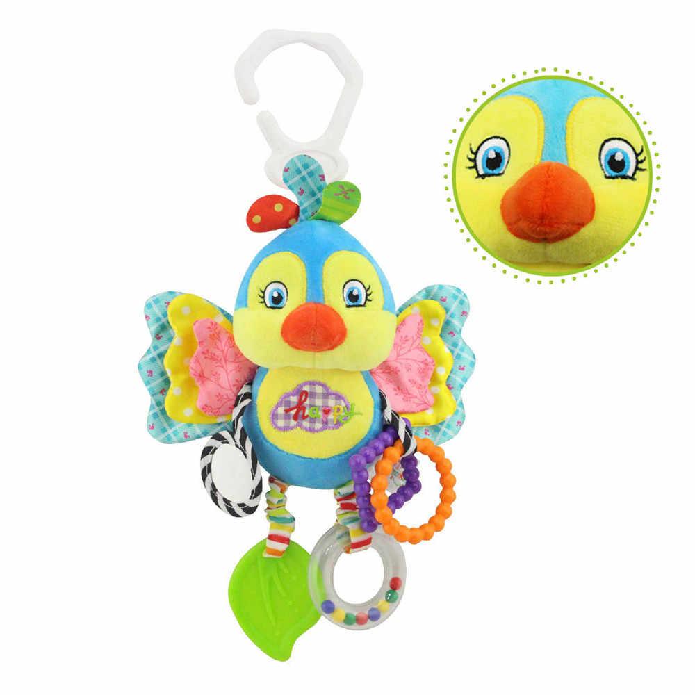 Kereta Dorong Bayi Gantung Mainan Hewan Plush Mainan Tempat Tidur Bell Bayi Kamar Bayi Mainan BEBE Reborn Anak Bayi Mainan Juguetes Mainan