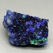 13 г блестящий природный Азурит минералы Обучающие образцы орнаменты для домашней коллекции из Китая