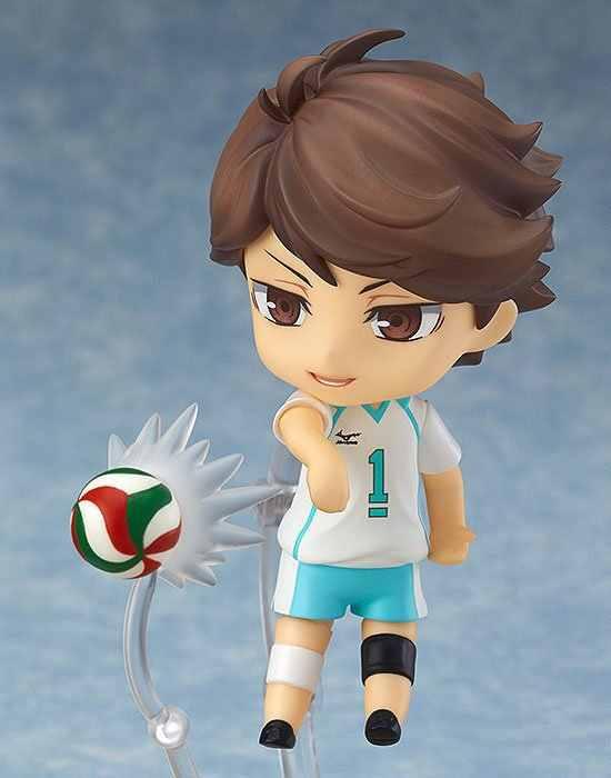10 cm Haikyuu Oikawa Tooru Nendoroid action figure giocattoli IN PVC doll collection anime del fumetto del modello