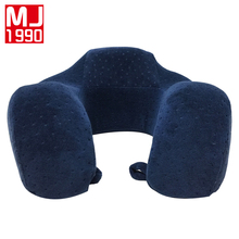 Hot High Quality U Pillow Memory Foam Care Cervical Spine Aircraft Travel Office Siesta Pillow Washable