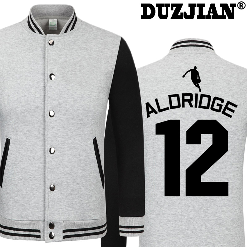 DUZJIAN Spring new Spur LaMarcus Aldridge casual font b jacket b font Big Fundamental cheap men