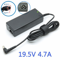 19.5 v 4.7a 90 w ac cargador de batería adaptador para sony vaio pcg vgn portátil