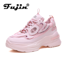 Fujin Autumn Female Causal Sneakers Women Vulcanized Shoes Dropshipping Non Slip Tennis Fashion Gym Large Size 35-41