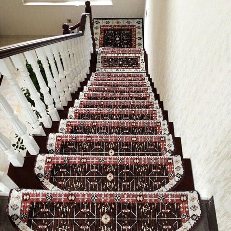 beibehang High - end home full floor mats European - style plastic - free anti - skid floor stairs mats simple floor stepping