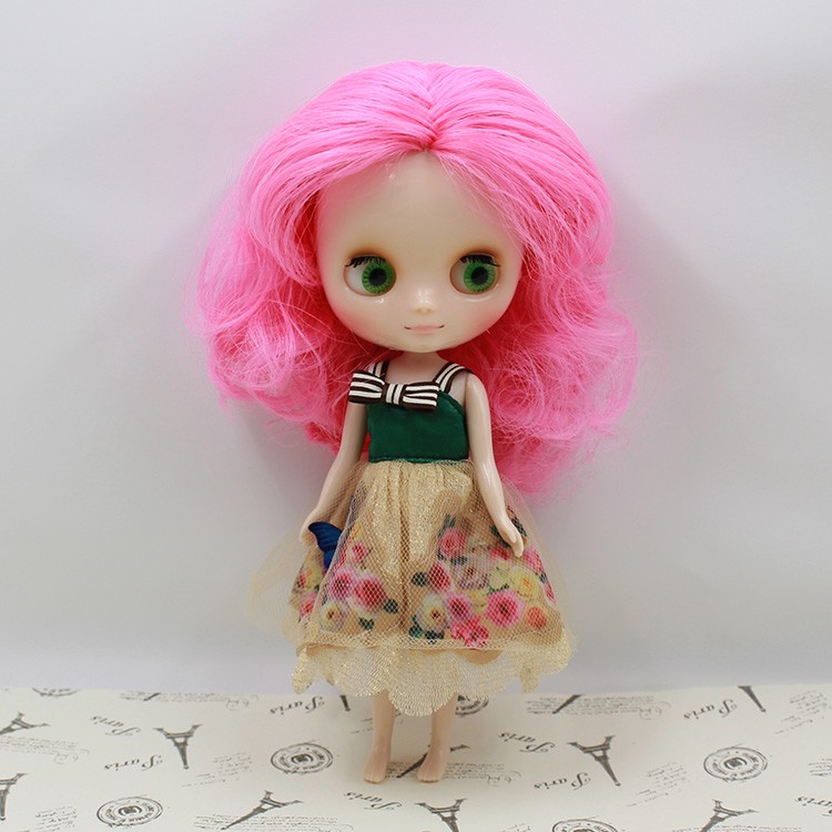 Middie Blythe Doll Multi-Color Hair 20cm 7