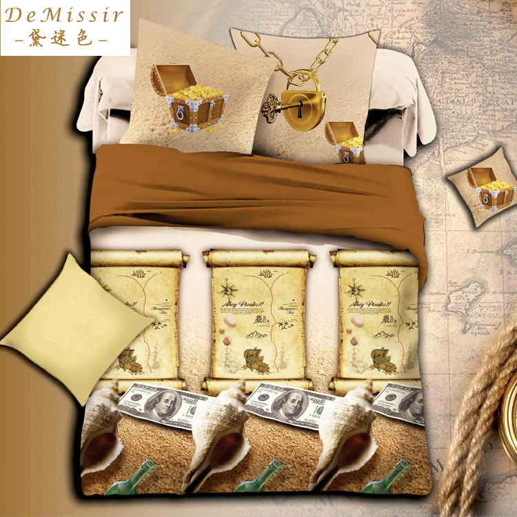 Money print bedding promotion shop for promotional money for Housse de couette usa