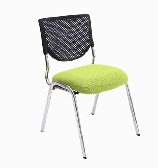 High Quality Breathable Mesh Cloth Office Chair Portable Soft Cushion Computer Chair Staff Member Meeting Chair 240311 high quality pu leather computer chair stereo thicker cushion household office chair steel handrails