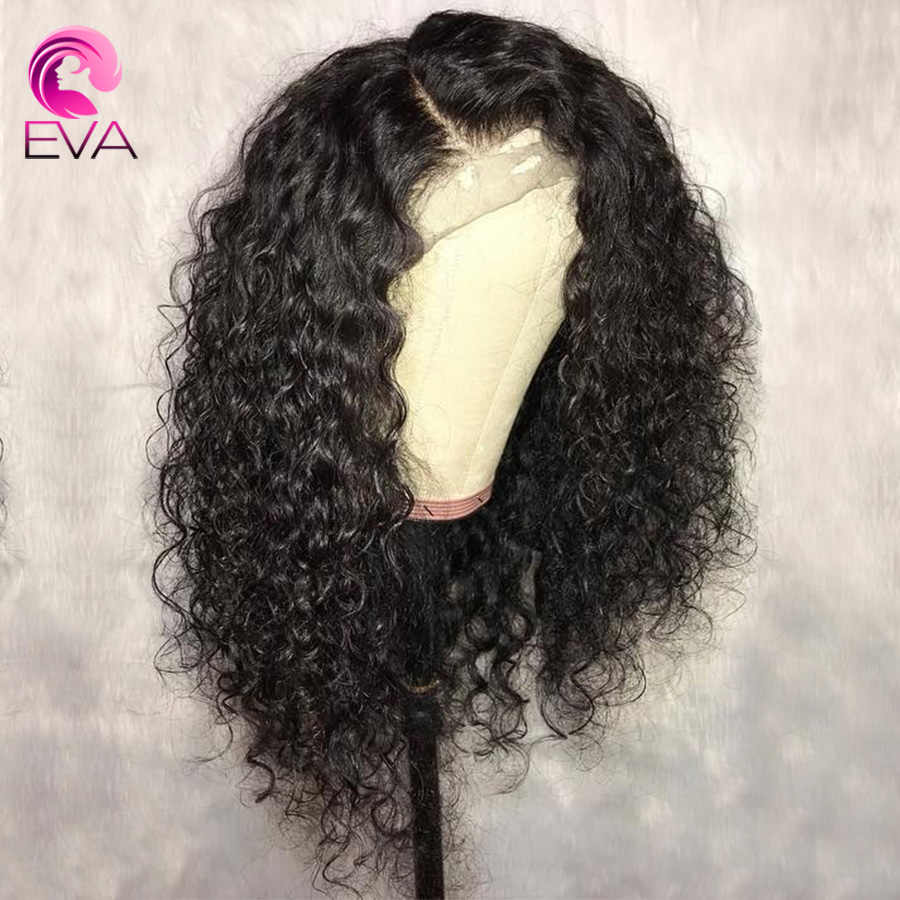 Full Lace Human Hair wigs Brazilian Curly Wig For Black Women 130% Or 150% Density Lace Wigs With Baby Hair Remy Hair Eva Hair