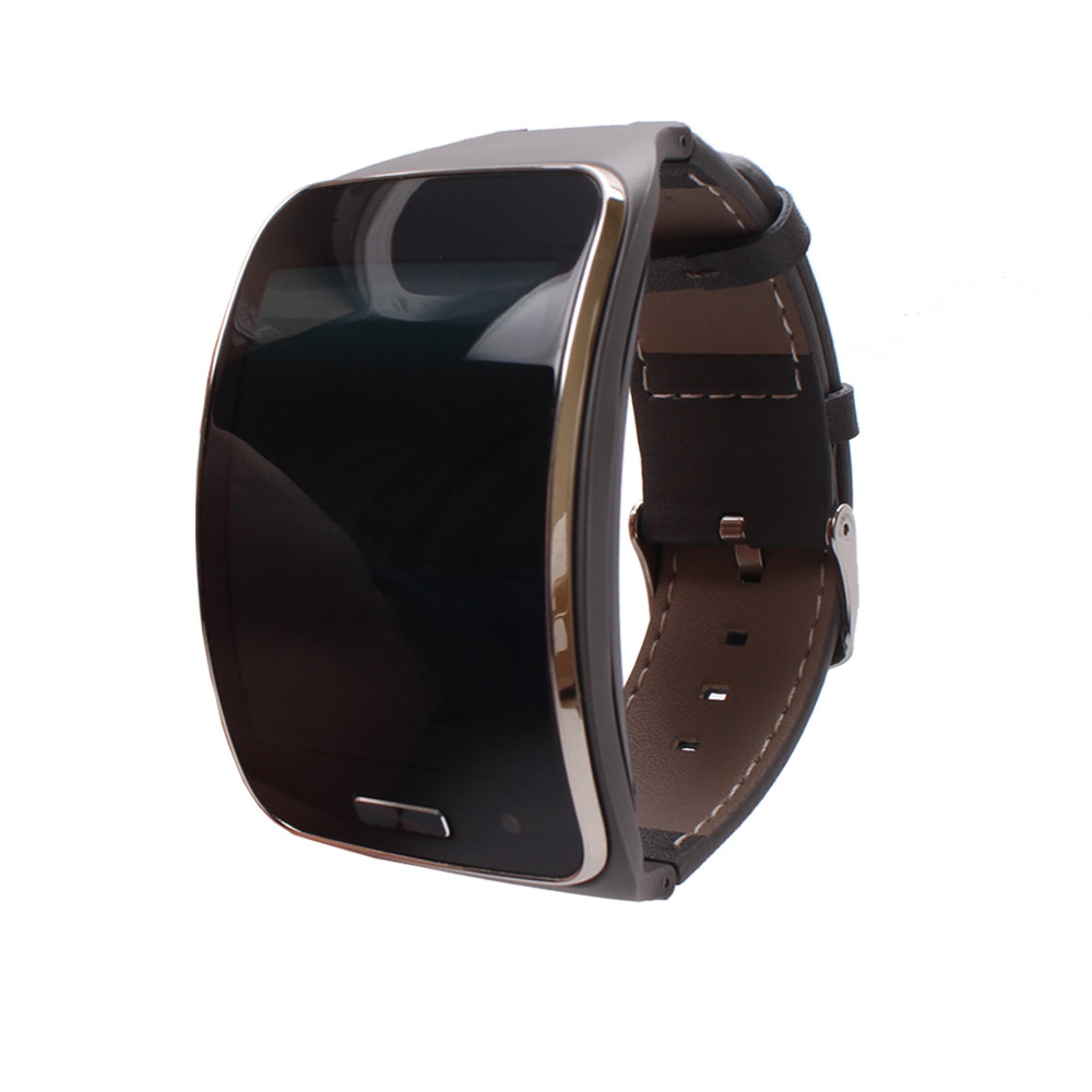 NEW 2017 Genuine leather Watch Wrist Strap Band For Samsung Gear S SM R750 Smart High