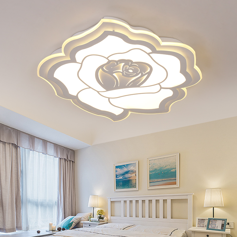 led Ceiling light Living room led ceiling lamp simple modern children's lamp Nordic home bedroom warm creative lamp led lamp ledceiling light living room modern minimalist art creative led ceiling lamp nordic home bedroom lamp abaju