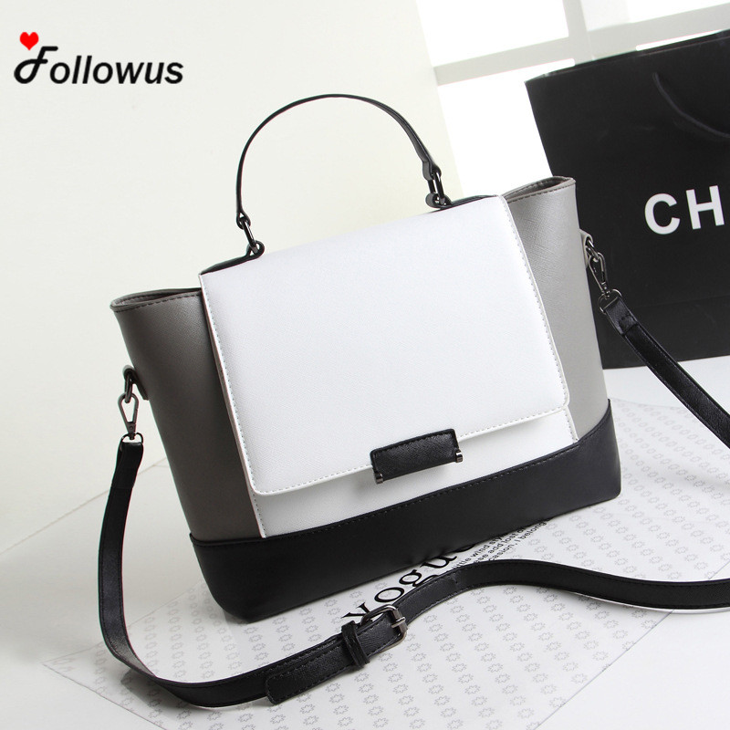 Hot Sale Women Handbag Casual Shoulder Ladies Fashion Messenger Bag PU Leather Satchel Tote Purse bolsa feminina кошелек sendefn 100% 7777
