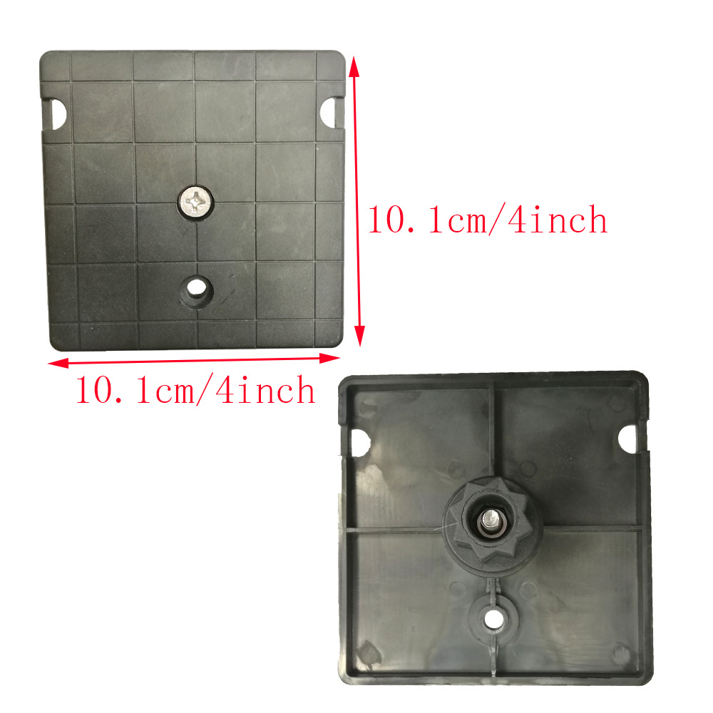 4 Inch GPS Fish Finder Mount Bracket Plate For Kayak Fishing Boat Canoe