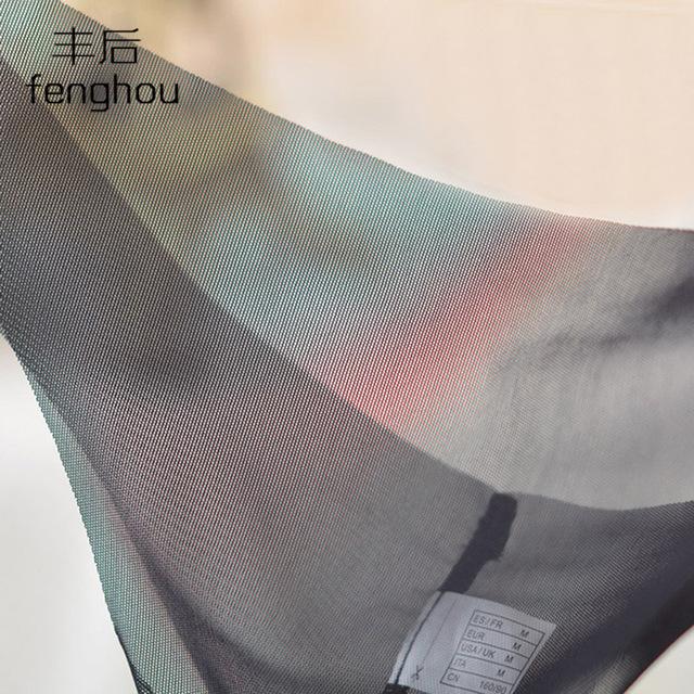 T-back thin gauze underwear one-piece seamless