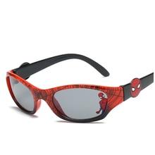 Детские солнцезащитные очки для мальчиков детские защитные модные очки с покрытием UV400