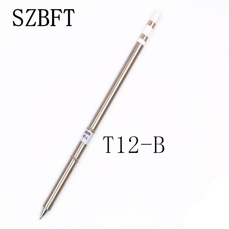 1 قطعه SZBFT برای ایستگاه لحیم کاری Hakko t12 T12-B آهن آلات لحیم کاری برقی نکات مربوط به ایستگاه FX-950 / FX-951