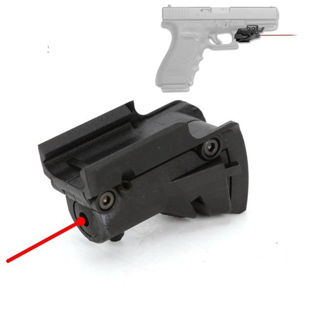 Тактический 5 мВт красный лазерный прицел Красная точка для Glock 19 23 22 21 37 31 20 34 35 37 38 пистолет винтовка страйкбол охота