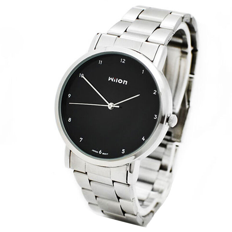 Simple Men's Ladies Couple Clocks Brand Classic Museum Minimalist Male Quartz Watch Casual Wristwatch Steel Clock Mensao Horloge