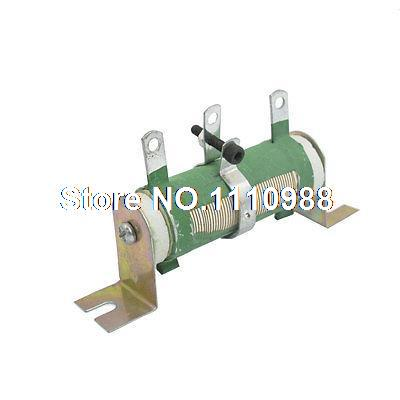 30W 10 Ohm Adjustable Resistor Ceramic Rheostat 100 Watt fixed type pipe resistance 400w 390 ohm ceramic tube resistor