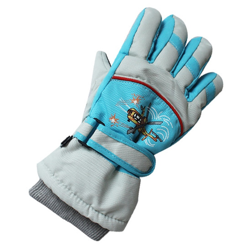 Winter thermal Ski Gloves Waterproof Cool-resistant Snowboard gloves boys girls guantes for skiing Snowboarding