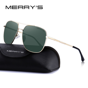 Image 2 - MERRYS Men Classic Sunglasses Aviation Frame HD Polarized Shades For Driving Sun Glasses UV400 Protection S8173