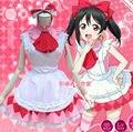 LoveLive! Minami Kotori Cosplay Amor vivo Yazawa Nico Vestido de Uniforme de Sirvienta