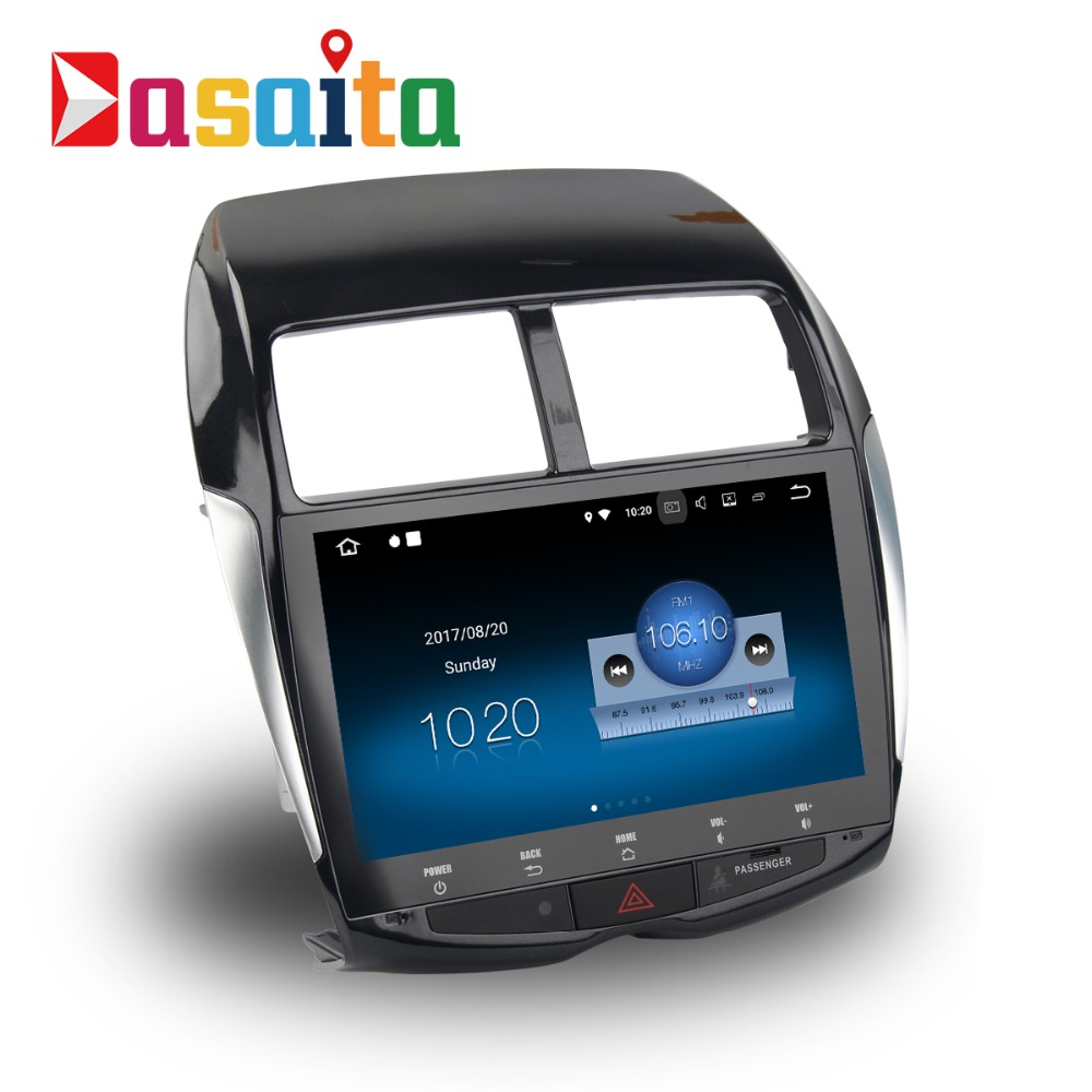 Dasaita 10 2 Android 8 1 Car GPS Player Navi for Mitsubishi ASX 2010 2012 with