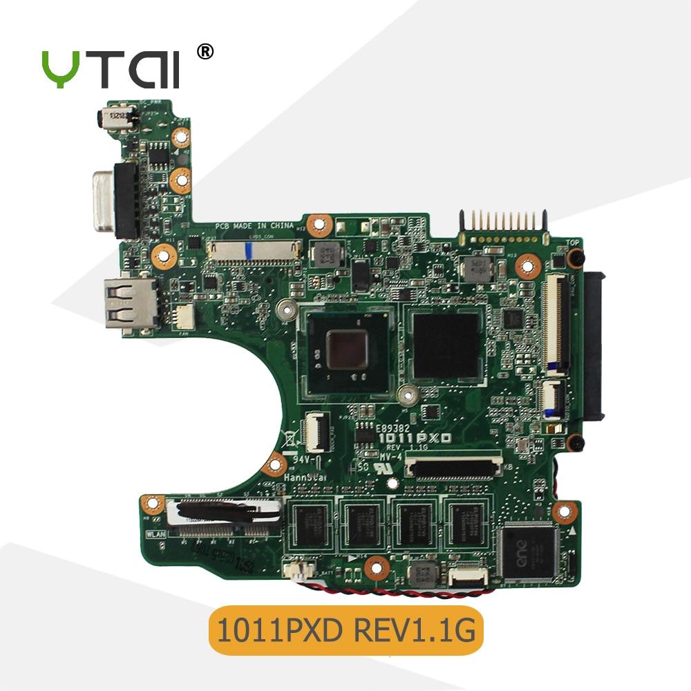 Carte mère 1011PXD pour ASUS 1011PX 1011PXD carte mère d'ordinateur portable N570 processeur Rev 1.1G carte mère 100% testé