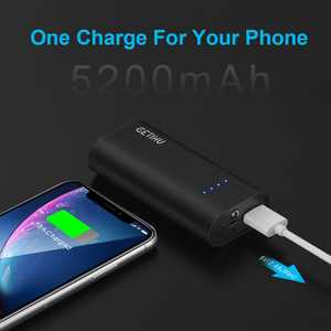 Image 3 - INIU Mini Power Bank  5200mAh USB Portable Charger Fast Charging Powerbank Pack Poverbank External Battery Charge for Xiaomi mi9