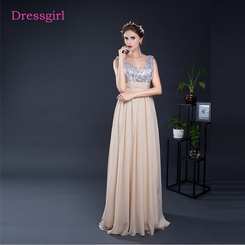 Champagne 2019 Cheap Bridesmaid Dresses Under 50 A Line V