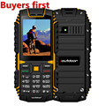original ioutdoor T1 IP68 Waterproof cell Phone 2.4Inch 128M+32M GSM 2MP FM MP3 2100mAh Rugged Shockproof Dustproof Mobile Phone