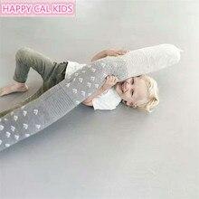 Пол нейтральный детская кроватка бампер милый детский бампер Подушка-змея для мальчика кровать бампер кровать длинная подушка современная детская мягкая игрушка