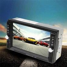 Caliente Nuevo 7 Pulgadas de Pantalla Táctil Auto Coches Reproductor de DVD Bluetooth 800*480 DVD Player Radio Para Vehículo negro