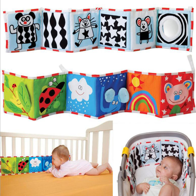 Baby Room Decor Crib Cloth Bumper Multi-Touch Double Protector Bebe Bed Bumper Cot Fence soothe Towel Newborn Bedding Set(China)