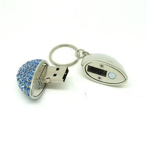Image 3 - Bling Diamond beautiful heart pendrive Memory Stick USB Flash disk Pen Drive Full Capacity 4GB 8GB 16GB 32GB  Lovers gift