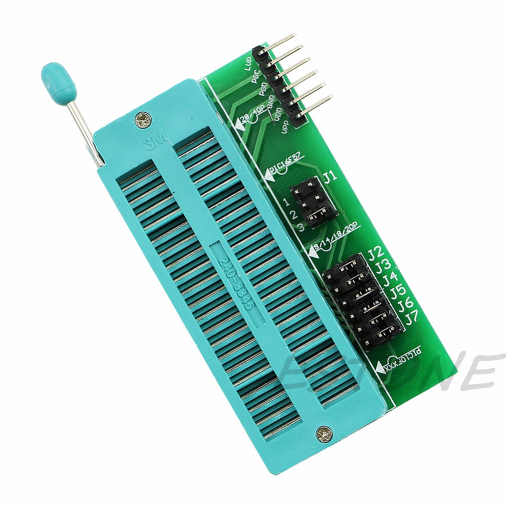 New PIC ICD2 Programming Adapter PICKIT2 PICKIT3 Universal Programmer Seat Z09 Drop ship free shipping sop32 wide body test seat ots 32 1 27 16 soic32 burn block programming block adapter