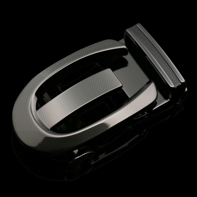 3.5cm Width Automatic Belts Buckle Leather Belt Men Automatique Oval Belt Buckle For Male CE6631