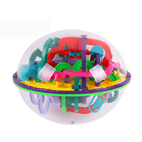 299 Steps 3D Magic Intellect Ball Marble Puzzle Game Perplexus Magnetic Balls IQ Balance Toy Educational