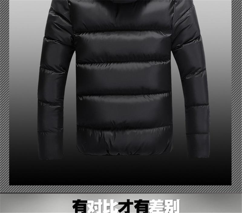 HTB1OMKOXh2rK1RkSnhJq6ykdpXaN Jackets Men 2019 Winter Casual Outwear Windbreaker Jaqueta Masculino Slim Fit Hooded Fashion Overcoats Homme Plus Size