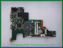 Free Shipping 646179-001 for HP 2000 CQ43 CQ57 laptop motherboard with hm65 chipset 6470/512m 100% Tested 60 days warranty